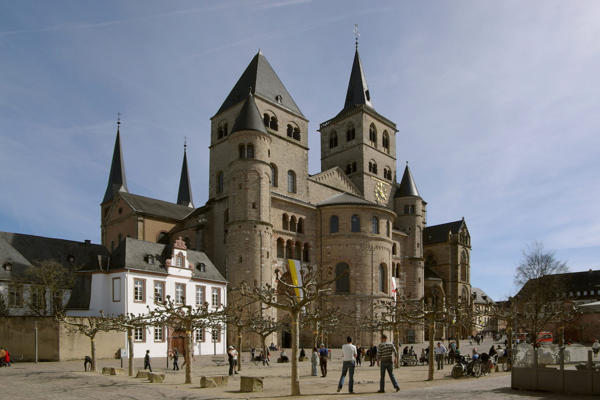 Biggest cathedral in Trier
